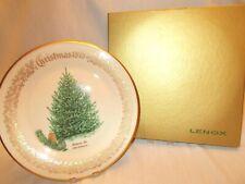 "Lenox 1979 Annual Christmas Commemorative Plate - Balsam Fir 10-5/8"" - Box"