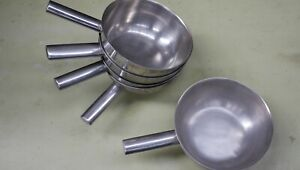 British Army Field Kitchen Stainless Steel Cooking Wok / Pan 2.5L