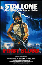 "Rambo First Blood  (11"" x 17"") Movie Collector's Poster Print - B2G1F"
