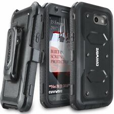 Samsung Galaxy J3 Prime J3 Emerge Case Rugged Holster Built in Screen Protector