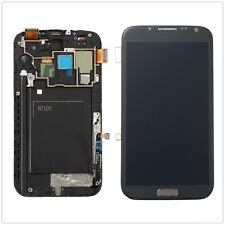 Complete LCD Touch Screen Digitizer + Frame For Samsung Galaxy Note 2 N7105 i317