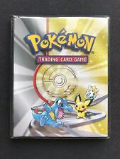 Pokemon Gold & Silver Old School Wizards of the Coast Ultra-Pro Binder