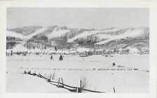 ST. SAUVEUR DES MONTS Quebec Canada 1940-50s Carte Postale no 15 Postcard
