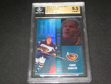 SIMON GAMACHE 2002-03 ROOKIE CARD BECKETT SLABBED & GRADED GEM MINT 9.5 28/250
