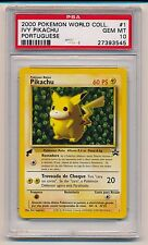 2000 Pokemon World Collection #1 Ivy Pikachu Portuguese Promo Psa 10 Gem Mint