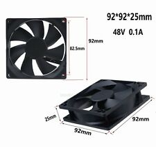 92mm DC 48V 2Pin Brushless Cooling Fan 92x25mm PC Computer Heatsink Fan Ball Brg
