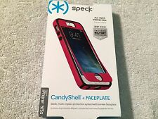 SPECK SPK-A2486 CANDYSHELL +  FACEPLATE PHONE CASE THE APPLE iPhone 5/5S PINK