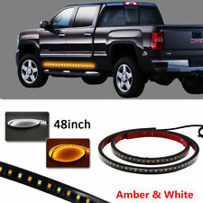 "2X 48"" Car 120 LED Light Strip DRL Turn Signal Indicator Lamp Side Parking Light"
