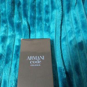 Armani Code Colonia🐎 All-Over Body Gel & Shampoo 6.7 oz/200ml NEW & Sealed
