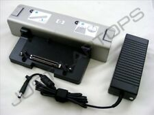 New HP Compaq NW9440 NX6120 NX6125 Basic Docking Station Port Replicator Inc PSU
