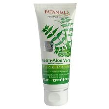 Patanjali Neem Aloevera With Cucumber Face Pack 60 GM
