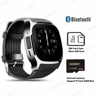 XGODY Bluetooth Montre Intelligente Support SIM Carte Smart Watch pour Android