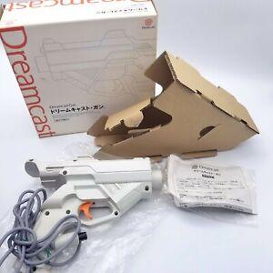 Gun Controller HKT-7800 Dreamcast SEGA DC import Japan w/ box , Manual