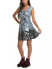 Disney Alice In Wonderland Falling Gothic Art Tank Dress Size Large