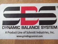 SCHMITT SB3700G DYNAMIC BALANCE SYSTEM NON-CONTACT WITH INTERGRILE AMES SENSOR