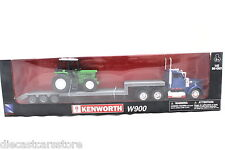 NEW RAY KENWORTH WITH FARM TRACTOR 1:43 SCALE NEW IN BOX SS-152636