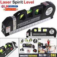 Multipurpose Laser Spirit Level Line Tape Tool Measurement Lazer Leveling Wall