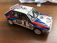 Provence Moulage K649 Lancia DELTA INTEGRALE model resin rally car M/C 1988 1:43