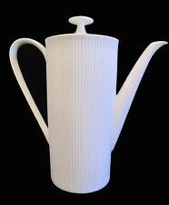 German Arzberg ATHENA WHITE Coffee Pot ~ circa 1975