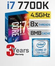 Intel Core i7-7700K Kaby Lake Quad-Core 4.2GHz LGA1151 7th Gen Desktop Processor