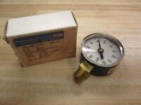 Ashcroft 20W1005-H-02L-30-VAC Vacuum Gauge 0-30 in. Hg vac 0-30PSI