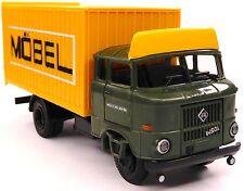 H0 BUSCH IFA W 50 L/MK Möbelkoffer Umzug MÖBEL auto trans berlin DDR # 95117