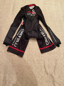 CASTELLI Cycling Long Sleeve Skinsuit BRAND NEW ORIGINAL SIZE S For Men