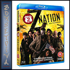 Z NATION - COMPLETE SEASON 2 *BRAND NEW BLURAY **