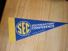 2 SEC Conference Mini Pennant (2) Made in USA
