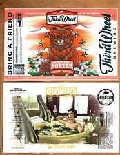 Rare Micro Beer Labels Third Wheel St. Peters Mo !