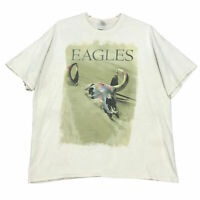 Eagles History Tour Concert Shirt 2013 Mens Size XXL 2XL Beige Short Sleeve
