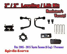 "2005 - 2016 Toyota Tacoma  3"" / 2"" Lift Kit  + TUBULAR Upper Arms UCA"