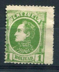 Venezuela 1880, Stamp Classic N° 28, Simon Bolivar, New