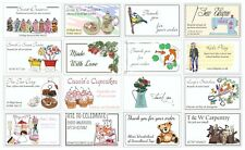 Business card style stickers / labels - for small businesses - various designs