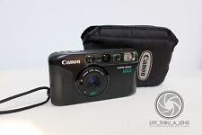 Canon Sure Shot Max 35mm film point and shoot camera & pouch lomo retro