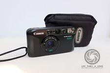 Canon Sure Shot Max 35mm film point and shoot camera & pouch lomo retro