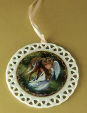 Heaven's Little Sweethearts AN ANGEL'S DEVOTION Ornament Donna Brooks Lovely!