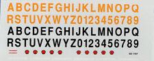 FPMODEL 1707 Decal Numeri/lettere per auto Carabinieri e Gdi Finanza scala 1/43