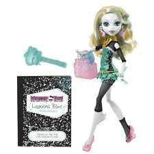NIB 2011 Monster High Lagoona Blue Doll School's Out w/ Diary