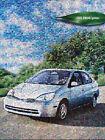 2002 Toyota Prius Hybrid Car Original Dealer Sales Brochure Catalog