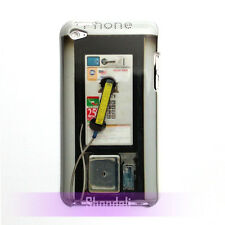 Phone Booth Box Hard Case Cover Skin For Apple iPod Touch 4 4th gen Generation