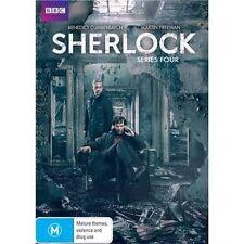 SHERLOCK-Series 4-Region 4-New AND Sealed-2 DVD Set-TV Series