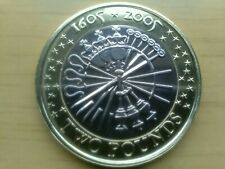 2005 GUY FAWKES £2 BRILLIANT UNCIRCULATED EXCELLENT CONDITION