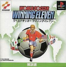 World Soccer Winning Eleven PS1 Konami Sony Playstation 1 Japan USED