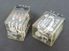 LOT OF 2 ALLEN BRADLEY 700-HC14Z24 RELAYS 24V 700HC14Z24 SERIES B