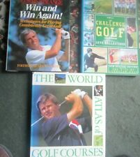 Win and Win Again  , The Challenge of Golf and The World Atlas of Golf Courses