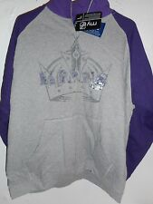 LA Kings NHL Men's Classic Full Zip Sweatshirt with front pockets Size XL NEW