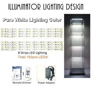 Strips Light LED Lighting Kits for IKEA DETOLF 8 strips Pure White (not cabinet)