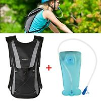 Hydration Backpack Pack with 2L Water Bladder for Hiking Biking Cycling Running