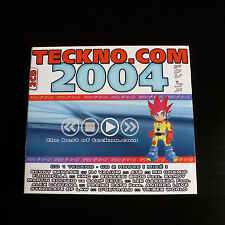 TECKNO.COM 2004 (2 CD dont un mix House de DJ Kyx)